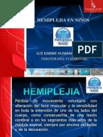 2. HEMIPLEJIA EN NIÑOS