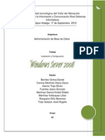Instalacion de Windows Server 2008