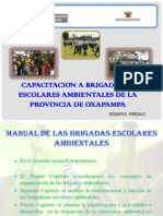 Capacitacion a Brigadistas Escolares Ambientales de La Provincia