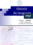 théorie de language (FSm 1 science)