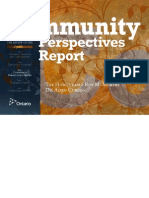Roots of Youth Violence - Part 3 - Community Perspectives Report