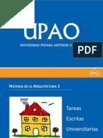 106387166 FAUA UPAO EXPO Sobre Elaboracion de Tareas Escritas Universitarias Docente Vadimiro Lami