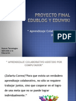 Proyecto Final Edublog y Eduwiki