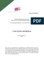 Case Study Honduras