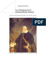 1862 VON FRIESEN Das Defensionwesen im Kurfürstenthume Sachsen