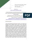Análise Cartográfica das Fontes de Poluição e de Diluição nos Cursos de Água da Região Metropolitana de Belo Horizonte