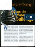 Ron Grieve - NDT of Concrete and Masonry Buildings
