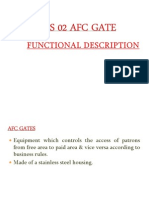 AFC GATE Functional Desc (Operation)