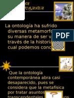 Tema 35 Ontologia Contemporanea