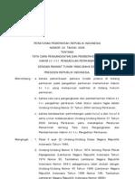 Pp No 24 Th 2006 Ttg Tata Cara Pengangkatan Dan Pemberhentian Hakim Ad Hoc Pengadilan Perikanan
