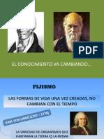 CLASE - TEORÍAS EVOLUTIVAS
