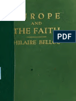 Belloc, Europe and the Faith