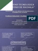 Diapositiva de Pluriculturalidad