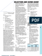Pitot Selection Ref