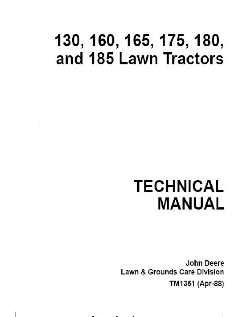 John Deere 175 Lawn Tractor Wiring Diagram Wiring Diagrams – John Deere 322 Wiring-diagram