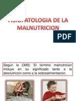 Fisiopatologia de La Malnutricion