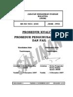 Prosedur Pengurusan Rekod Dan Fail