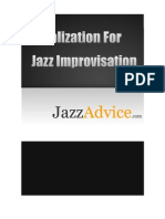 Visualization for Jazz Improvisation