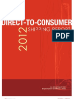 Direct-to-Consumer Shipping Report