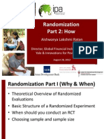 G. Lecture 4b Randomization How