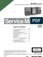 Phillips Manual Servicio Mc-m570