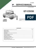 Sharp Qtcd250 Grabadora