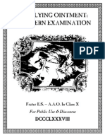 A.A.O., Frater E.S. - The Flying Ointment (a Modern Examination)