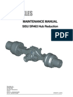 Maintenance Manual Sisu Sr 463 Hub Reduction