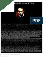 Baudelaire y El Dandysmo