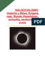 Anon - Nacional Socialismo Historia Y Mitos - El Enigma Nazi