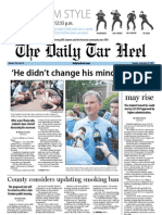 The Daily Tar Heel for September 24, 2012