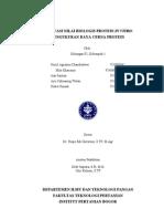 laporan Praktikum Evaluasi Nilai Biologis Protein in vitro