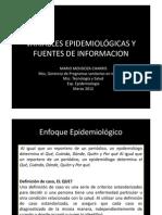 VARIABLES EPIDEMIOLÓGICAS, EPI DESCRIPTIVA Y FUENTES DE INFORMACION