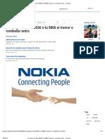 Se Apaga Tu Nokia 5530 o Tu 5800 Al Llamar o Contestar Entra - Taringa!