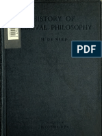 Maurice de Wulf, History of Medieval Philosophy
