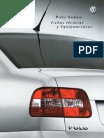 Brochure VW Polo Sedán 03'