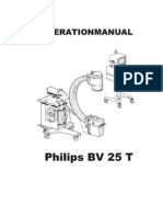 Philips BV-25 T - Operational Manual