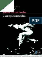 Carajicomedia. Juan Goytisolo