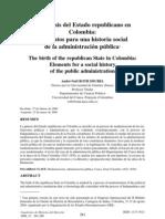 03-ROTH, André, La geneses del Estado republicano en Colombia
