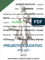 Projeto Educativo AEES 2010 - 2013