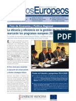 Boletín Fondos Europeos nº5 Comunidad Valenciana
