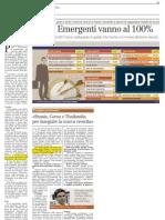 Gli Emergenti vanno al 100%. Intervista a Luca Boffa (ANIMA) - Corriere Economia 24/0912