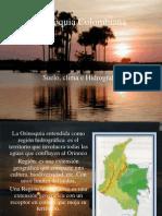 Orinoquia Colombiana, Suelo, Clima e Hidrografia Real