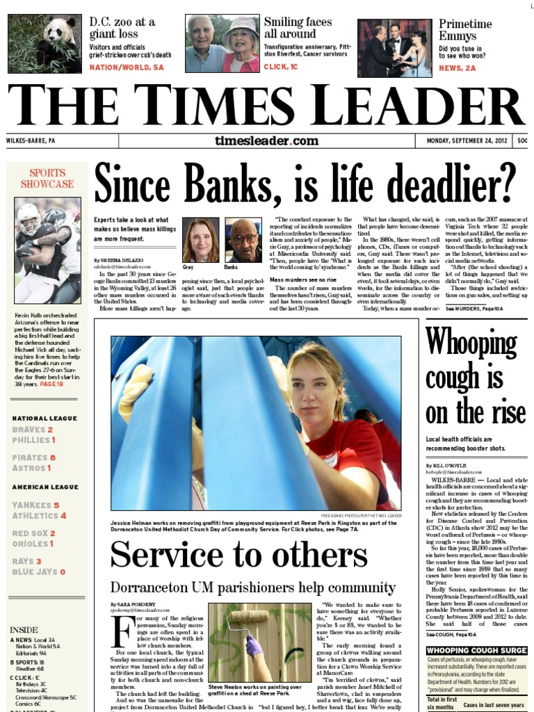 Times Leader 09-24-2012   Managed Care   Israel 77c8688a4b