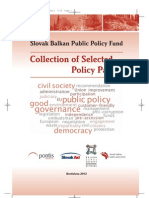 Slovak Balkan Public Policy Fund