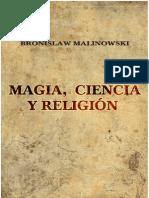 Magia, Ciencia y Religion
