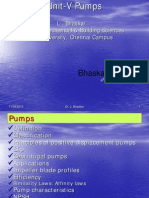 Unit-V Pumps [Bhaskar]