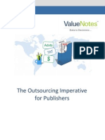 The Outsourcing Imperative for Publishers
