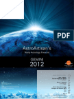 Gemini 2012 AstroArtisans Yearly Forecast