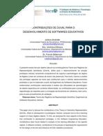 CONTRIBUIÇÕES DE DUVAL PARA ODESENVOLVIMENTO DE SOFTWARES EDUCATIVOS